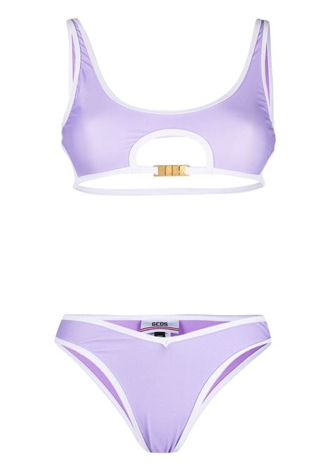 Bikini due pezzi con logo GCDS | Costumi | SS21W05001952