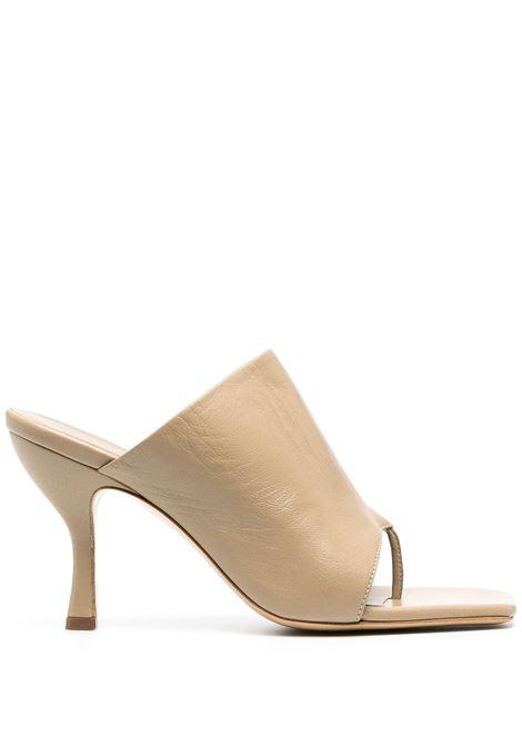 Gia Couture X Pernille mules perni donna sand leather GIA COUTURE X PERNILLE | Mules | PERNI020209A2
