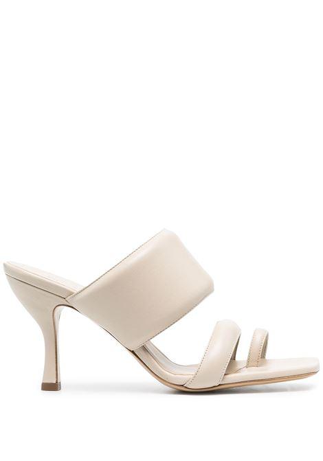 Gia Couture X Pernille mules donna cream leather GIA COUTURE X PERNILLE | Mules | PERNI1002A2