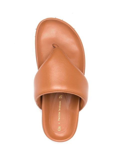 Gia couture x pernille perni slides women brown GIA BORGHINI | PERNI1204A2