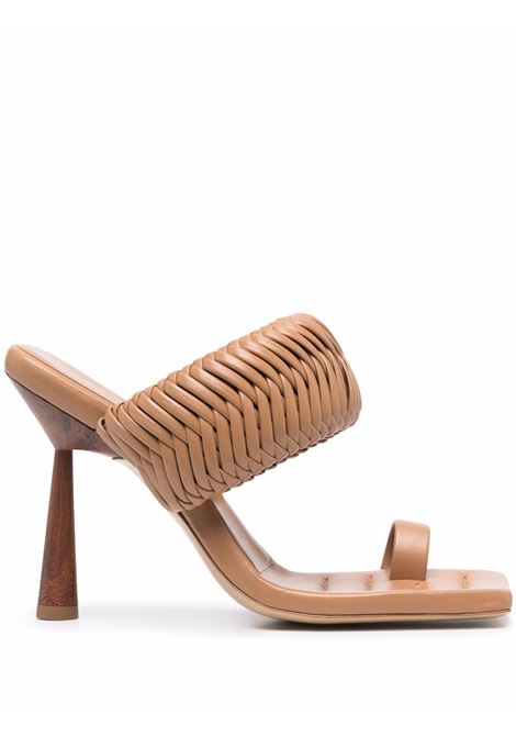 Rosie mules women brown GIA COUTURE X RHW | Mules | ROSIE1A103