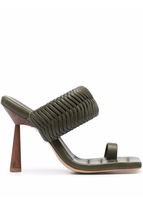 Rosie mules women moss green GIA COUTURE X RHW | Mules | ROSIE1A106