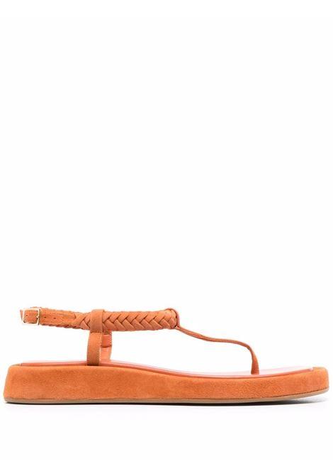 Gia couture X RHW sandali orange donna GIA COUTURE X RHW | Sandali | ROSIE3A212