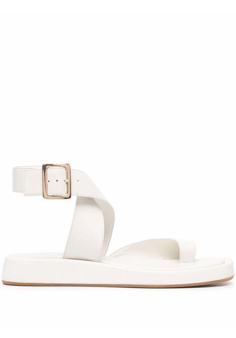 Sandali con cinturino alla caviglia  white GIA COUTURE X RHW | Sandali | ROSIE4A101