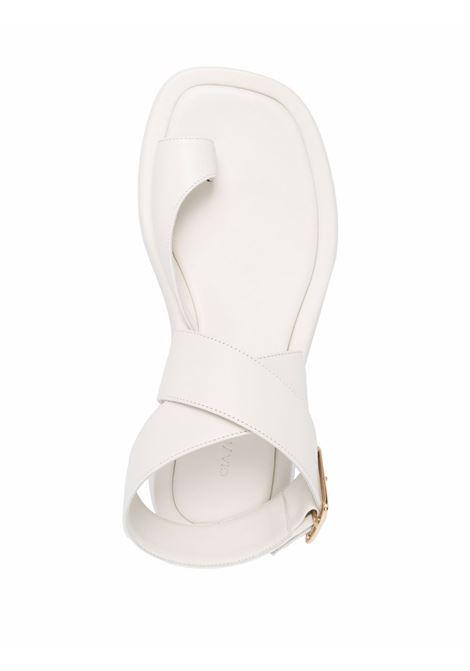 Sandali con cinturino alla caviglia  white GIA BORGHINI X RHW | ROSIE4A101