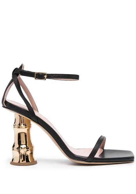 Gia couture bacio sandals women black GIA BORGHINI | BACIO01A2