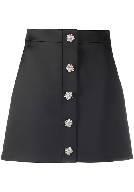 Crystal-embellished mini skirt GIUSEPPE DI MORABITO | Skirts | SS21050SK10910