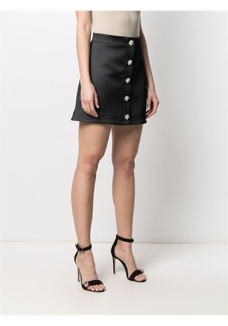 Crystal-embellished mini skirt GIUSEPPE DI MORABITO | SS21050SK10910