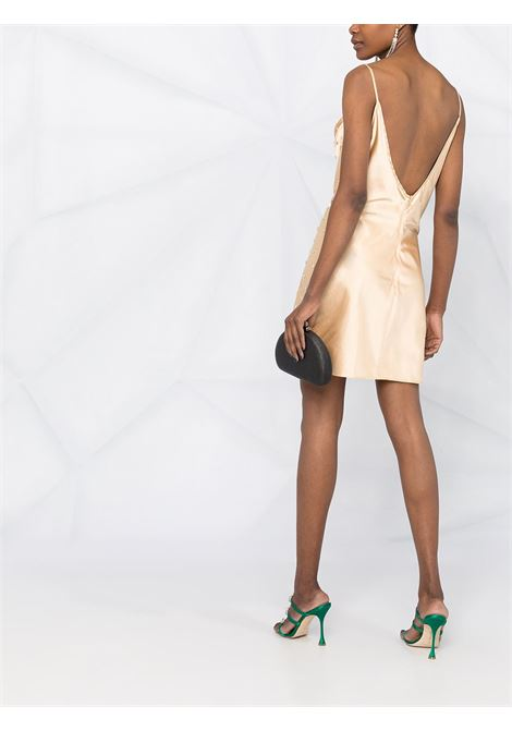 Crystal-embellished cowl-neck dress GIUSEPPE DI MORABITO | SS21137DR9205