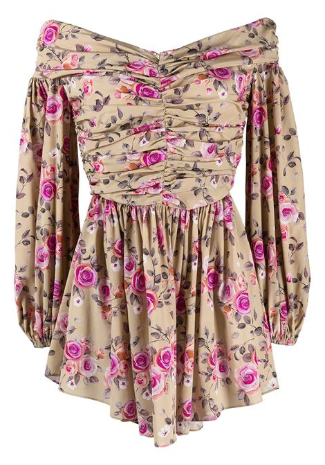 Floral-print dress GIUSEPPE DI MORABITO | Dresses | SS21179DR127ST1205