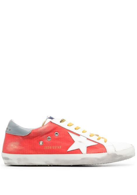 Golden goose super-Star sneakers men red white grey GOLDEN GOOSE | Sneakers | GMF00101F00123740379