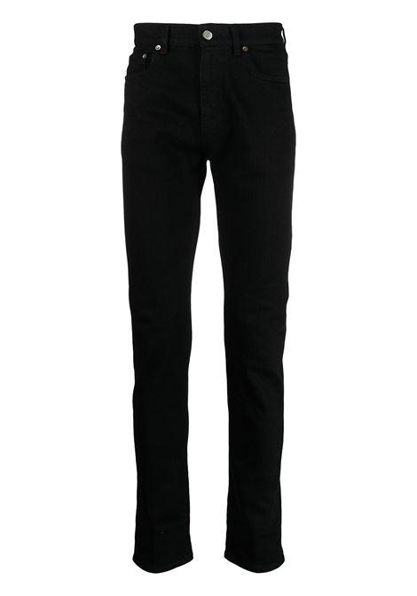 Jeans slim alvaro nero - uomo GOLDEN GOOSE | Pantaloni | GMP00290P00041490100