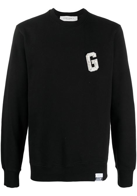 Logo-patch sweatshirt GOLDEN GOOSE | Sweatshirts | GMP00798P00020690100