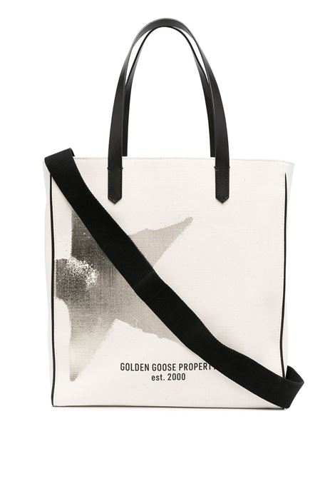 Golden Goose borsa star donna white gold GOLDEN GOOSE | Borse tote | GWA00172A00010410272