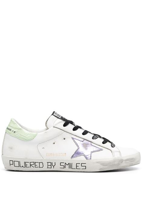 Golden goose sneakers superstar donna white lilac light blue GOLDEN GOOSE | Sneakers | GWF00101F00098310459