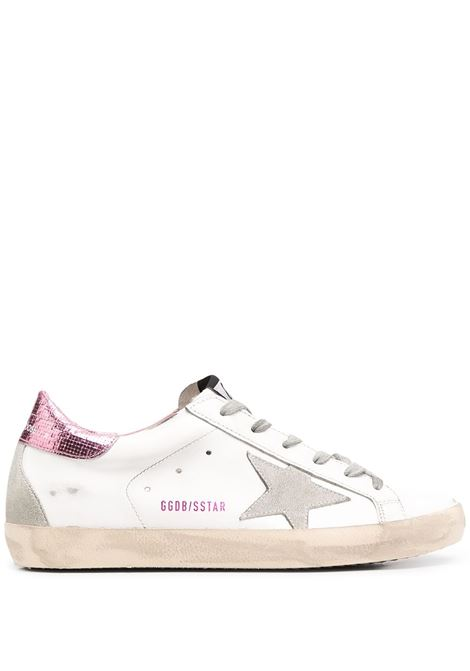 Golden Goose sneakers superstar donna white ice pink GOLDEN GOOSE | Sneakers | GWF00102F00071510386