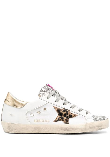 Golden Goose sneakers superstar donna white silver brown black gold GOLDEN GOOSE | Sneakers | GWF00103F00101810470