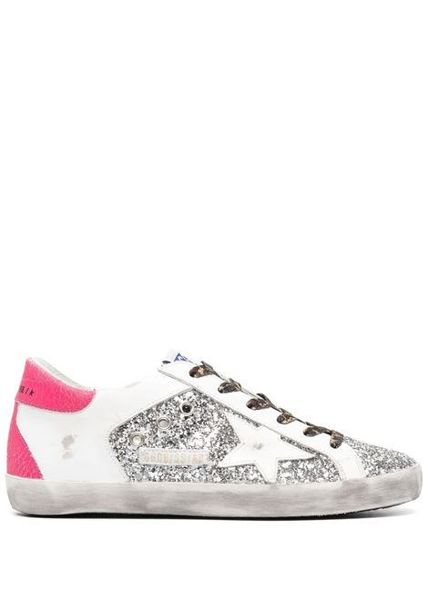 Golden goose sneakers superstar donna silver white pink GOLDEN GOOSE | Sneakers | GWF00104F00100870158