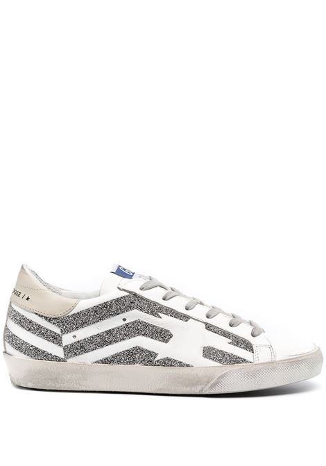 Golden Goose sneakers superstar donna white silver beige brown GOLDEN GOOSE | Sneakers | GWF00106F00125810539