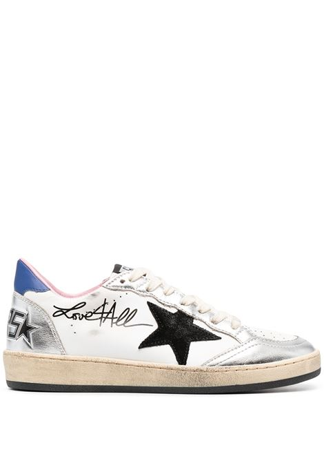 Golden Goose sneakers ballstar donna white silver black blue GOLDEN GOOSE | Sneakers | GWF00117F00026780267