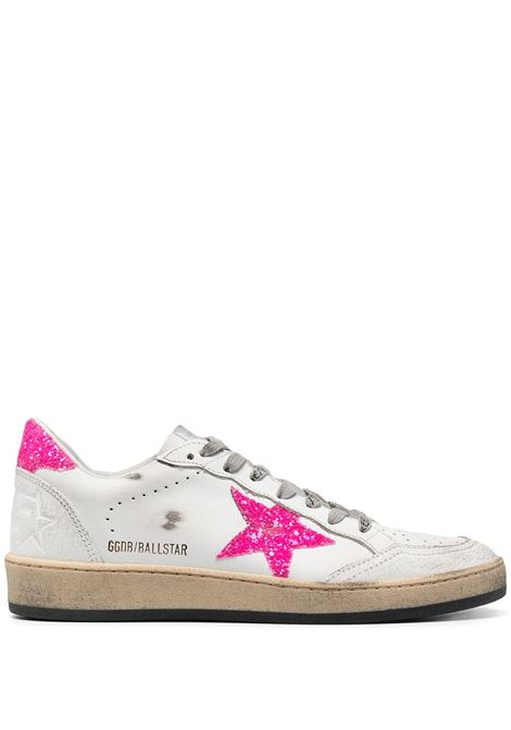 Golden Goose sneakers ballstar donna white pink fluo GOLDEN GOOSE | Sneakers | GWF00117F00103410475