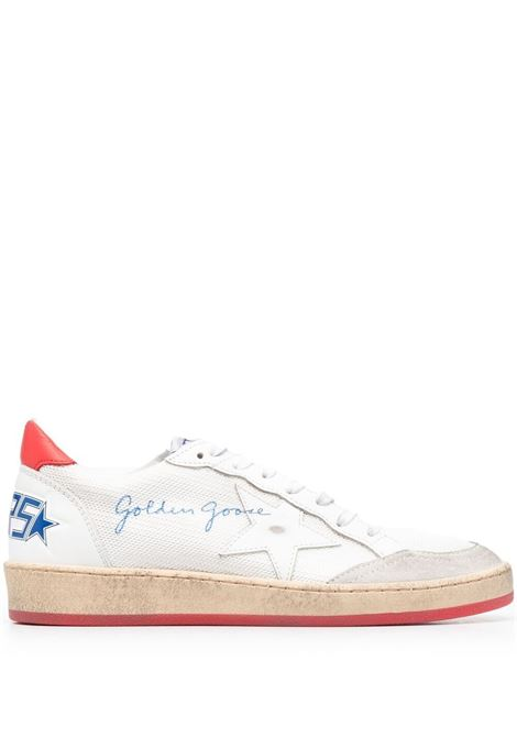 Golden goose sneakers ball star donna white ice cherry red GOLDEN GOOSE | Sneakers | GWF00117F00103510476