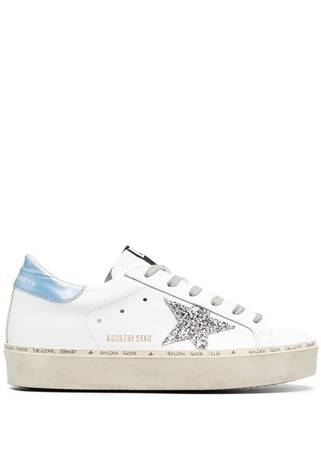 Golden Goose sneakers hi star donna white silver sky GOLDEN GOOSE | Sneakers | GWF00118F00021410245