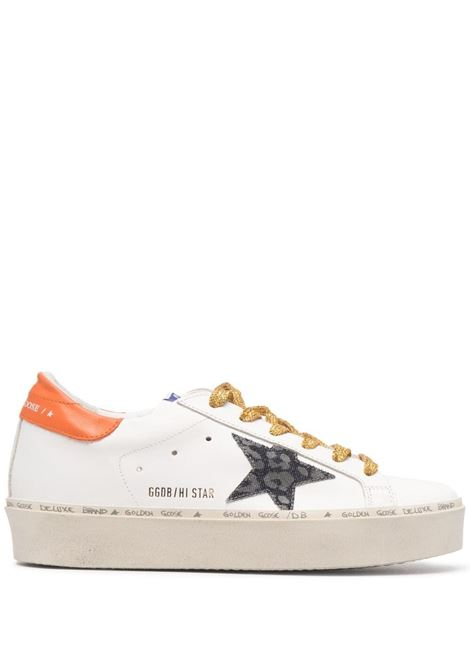Golden Goose sneakers hi star donna white indaco leo orange GOLDEN GOOSE | Sneakers | GWF00118F00021680242