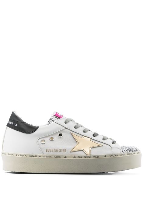 Golden goose sneakers alte donna white silver gold beige GOLDEN GOOSE | Sneakers | GWF00120F00108680822