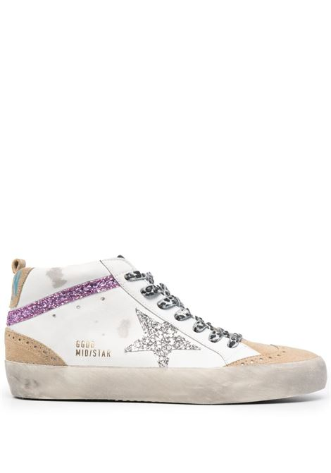 Golden goose sneakers superstar donna white cappuccino silver GOLDEN GOOSE | Sneakers | GWF00122F00103180791