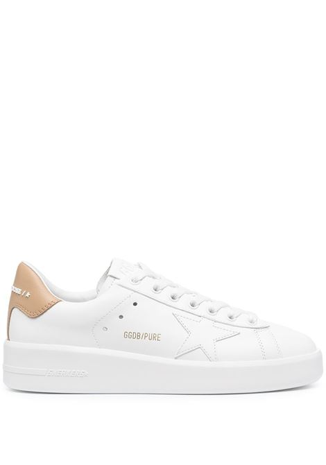 Golden Goose sneakers pure star donna white beige GOLDEN GOOSE | Sneakers | GWF00197F00112610318