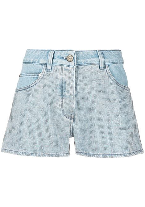 Golden Goose shorts zoey donna blue silver GOLDEN GOOSE | Shorts | GWP00231P00046250571