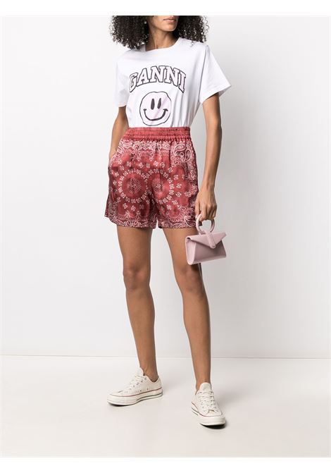 Shorts con stampa Donna GOLDEN GOOSE   GWP00728P00037340383