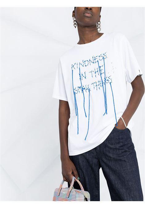 T-shirt con slogan Donna GOLDEN GOOSE   GWP00756P00041710523