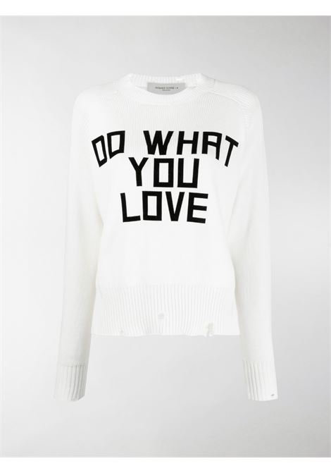 Maglione Do What You Love Donna GOLDEN GOOSE   GWP00765P00043220105