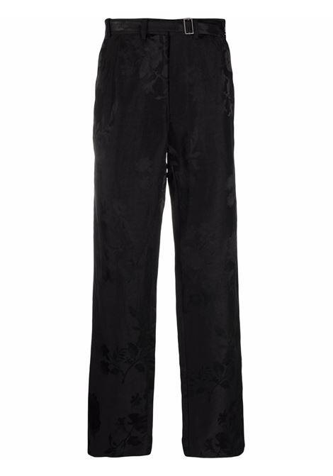 Haider ackermann straight-leg trousers men black HAIDER ACKERMANN | Trousers | 2133404253099
