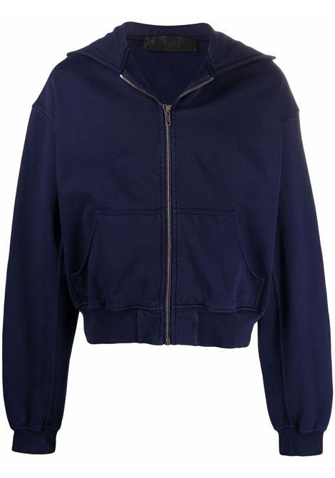 Haider ackermann logo sweatshirt men indigo HAIDER ACKERMANN | Sweatshirts | 2133802222058