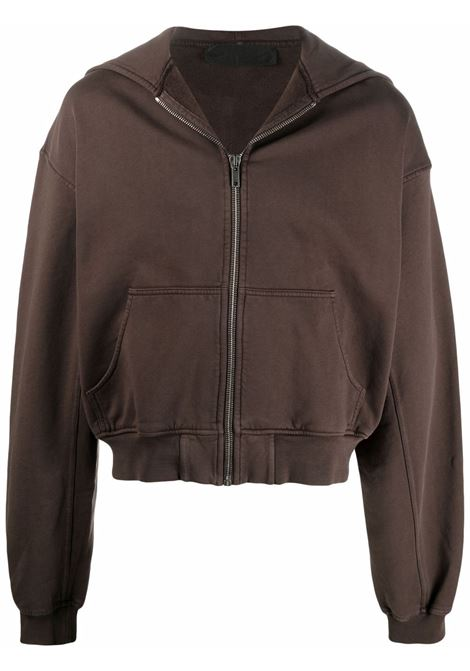 Haider ackermann logo sweatshirt men chocolate HAIDER ACKERMANN | Sweatshirts | 2133802222068