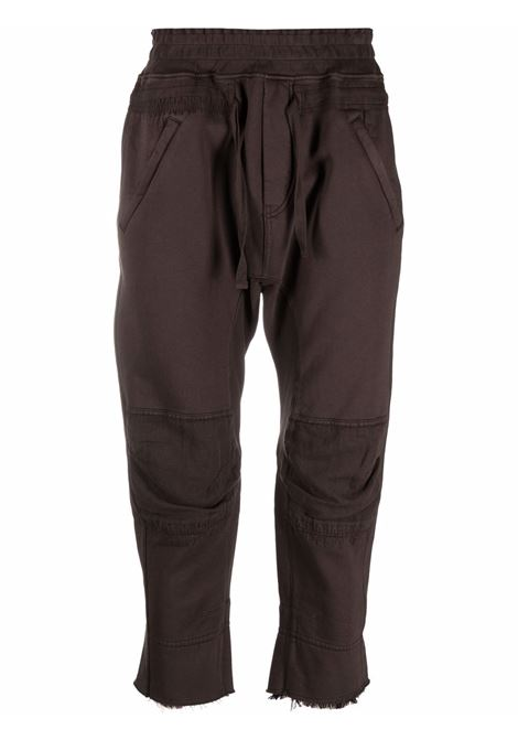 Haider ackermann cropped trousers men chocolate HAIDER ACKERMANN | Trousers | 2133806222068