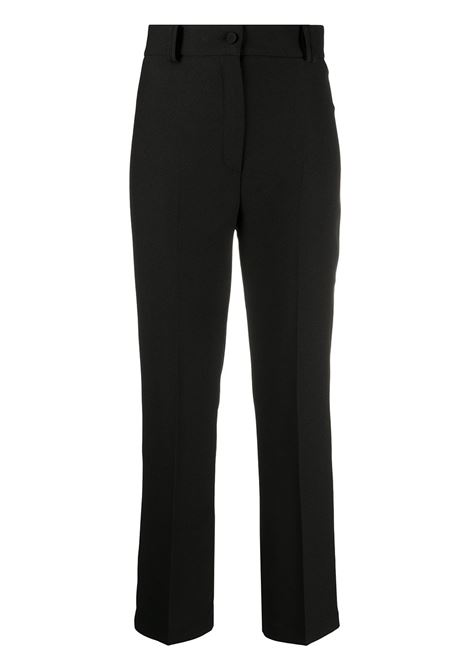 Cropped tailored trousers HEBE STUDIO | Trousers | C204LOPNCDYBLK