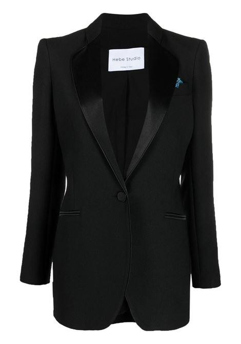 Tailored suit jacket HEBE STUDIO | Blazers | C204SMBZCDYBLK