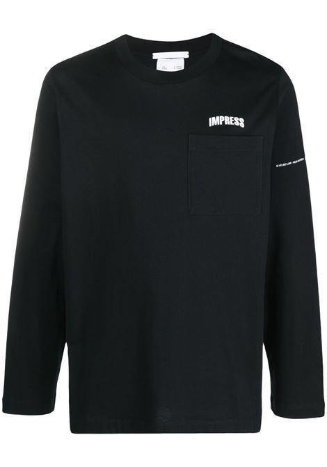 Helmut lang impress t-shirt men black HELMUT LANG | T-shirt | L01DM597YVM