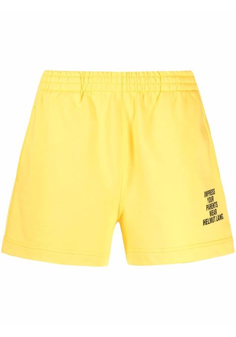 Impress shorts women yellow HELMUT LANG | Shorts | L01DW203ZRL