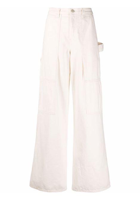 Helmut lang flared jeans women ecru HELMUT LANG | Jeans | L01DW207Q5W