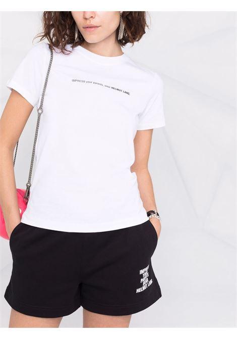 T-shirt impress donna chalk white HELMUT LANG   L01DW505VO2