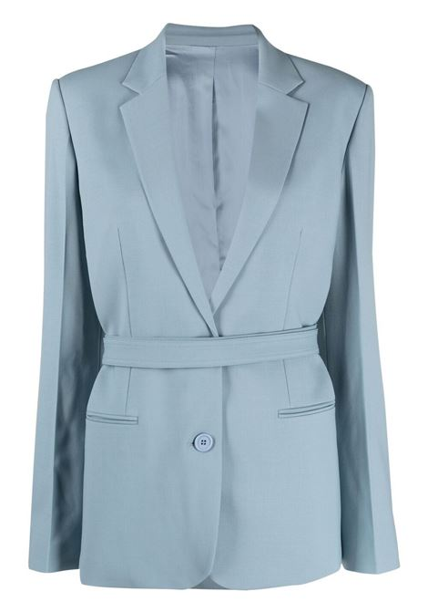 Helmut lang belted single-breasted blazer women space grey HELMUT LANG | Blazers | L01HW102ZRH