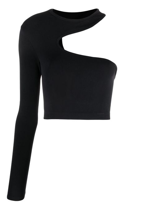 Helmut lang cut-out top women black HELMUT LANG | Top | L01HW501001