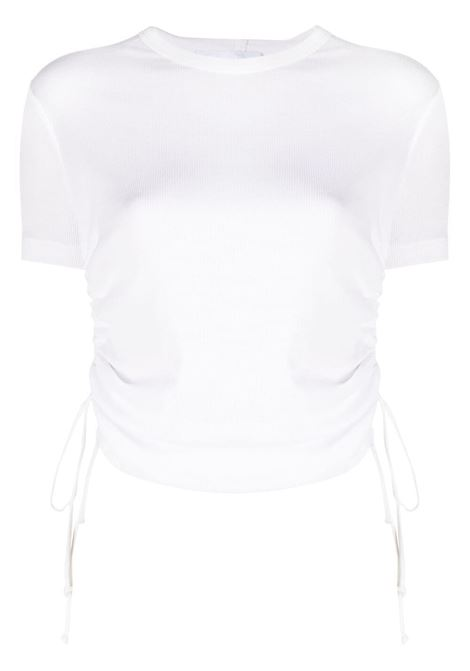Helmut lang cropped t-shirt women chalk white HELMUT LANG | T-shirt | L01HW509VO2