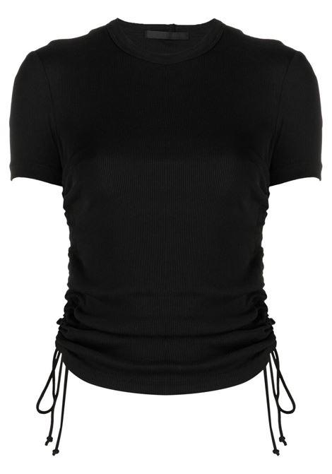 Helmut lang cropped t-shirt women black HELMUT LANG | T-shirt | L01HW509YVM