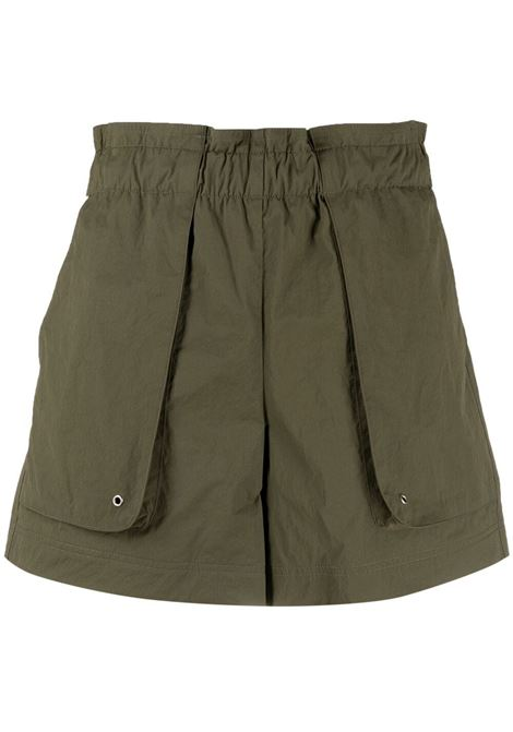 Helmut lang pocket-detail shorts women burnt olive HELMUT LANG | Shorts | L02HW205AP0